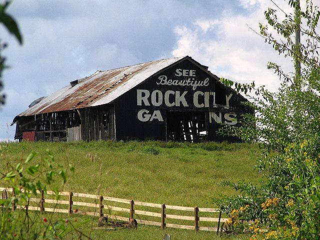 See Beautiful Rock City Gardens Rock City Old Barns Best
