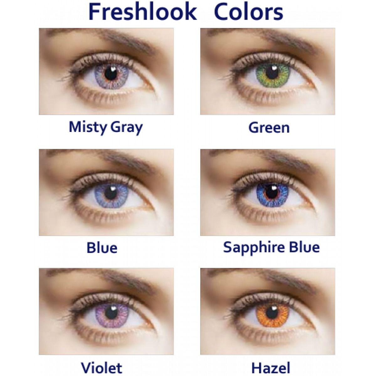 97111b1352 donde puedo comprar lentes de contacto de color | Eye color charts ...