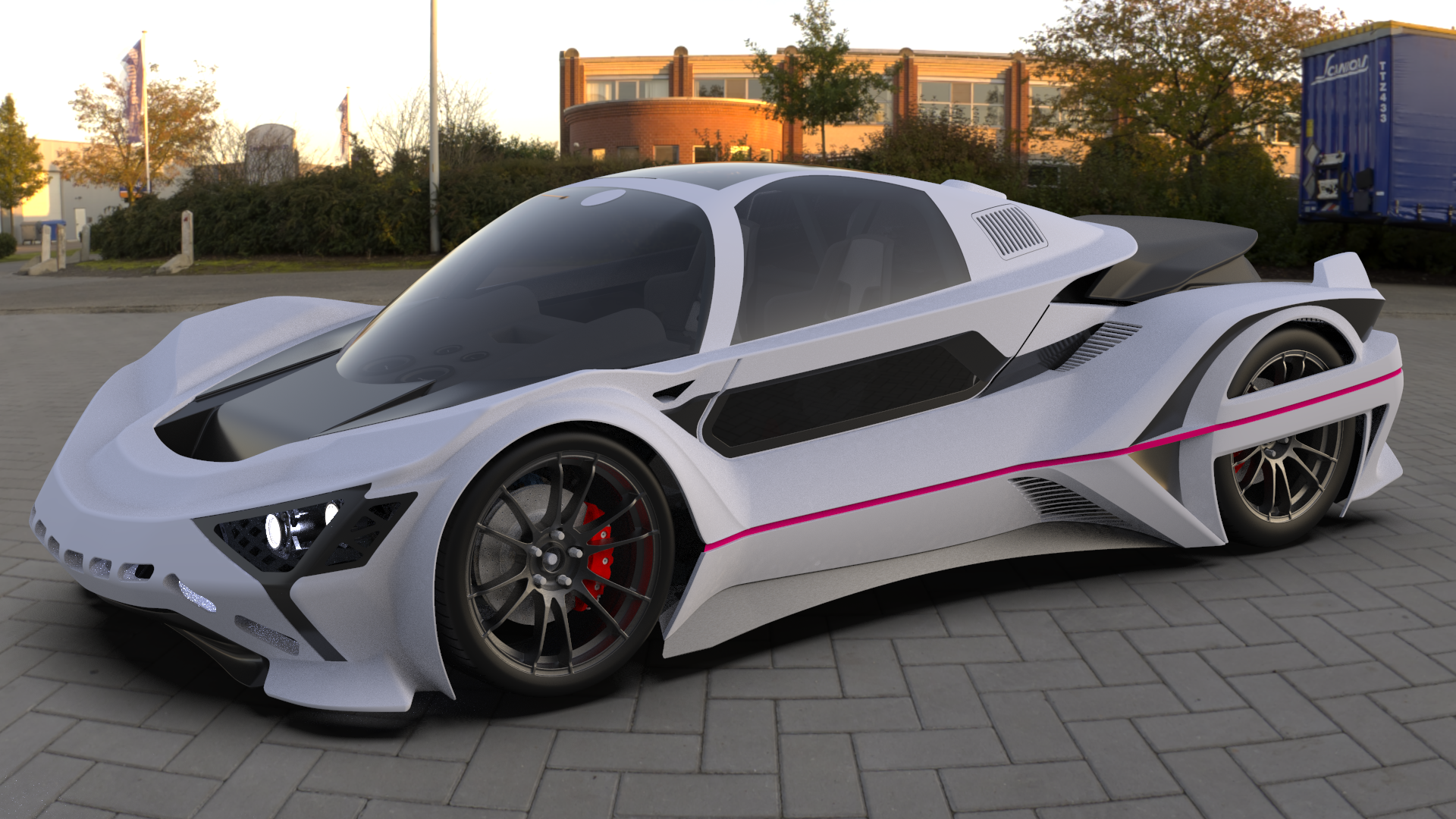Supercar System Xtas 3 Super Cars Sports Car System