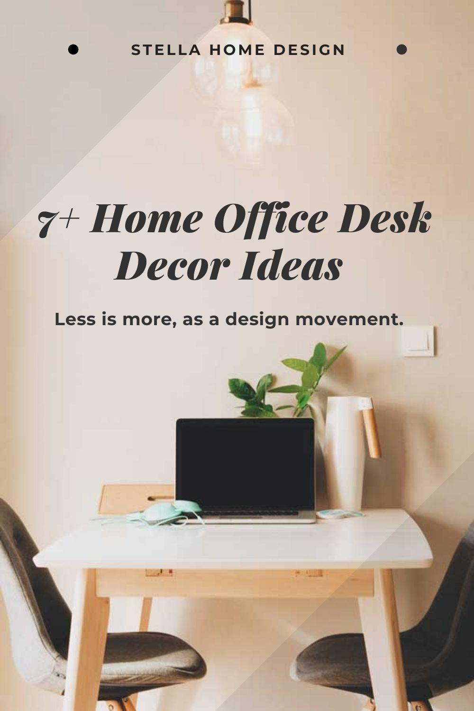 7 Home Office Desk Ideas Computer Desk Ideas Home Office Decor Online Business Pinterest For Business Pinterest Marketing Strategy