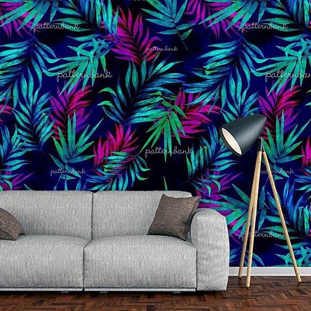 My new tropical leaf pattern design available now on #patternbank Seamless Tropical Leaf Pattern for Fashion Designers, Wallpapers, Interiors and Accessories.  #newonpatternbank #patterns #ss18 #print #creative #patterndesigner #fabricpattern #patternmaking #design #flowers #textile #collection #tagsforlikes #like #floral #instafashion #wearepremierevision #fashionblogger #wgsn #digital #printdesign #textiledesign #follow #summer2018 #style...