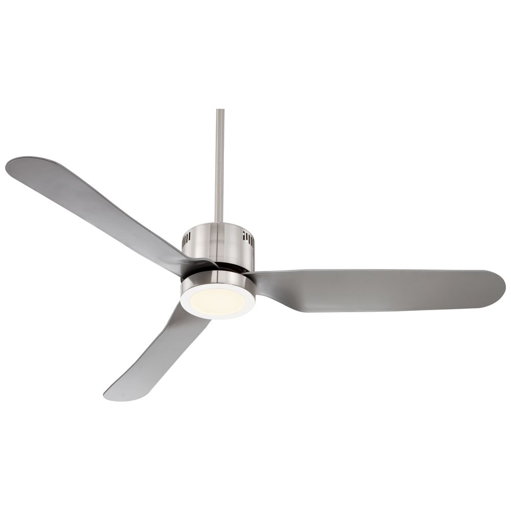 52 Visionary Brushed Nickel Led Ceiling Fan 7d539 Lamps Plus