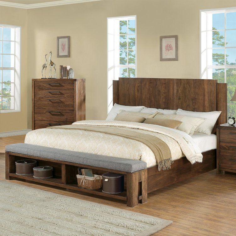 Mandy Wood Standard 5 Piece Bedroom Set In 2019