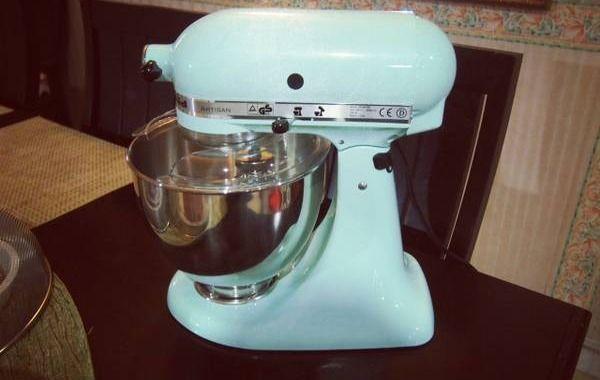 Photo Ice Blue Kitchenaid Mixer Got My Ice Blue Kitchenaid Mixer