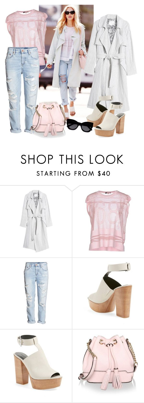 """""""Spring Up"""" by gangdise ❤ liked on Polyvore featuring Rebecca Taylor, Baguette....., H&M, Rebecca Minkoff and Karen Walker"""
