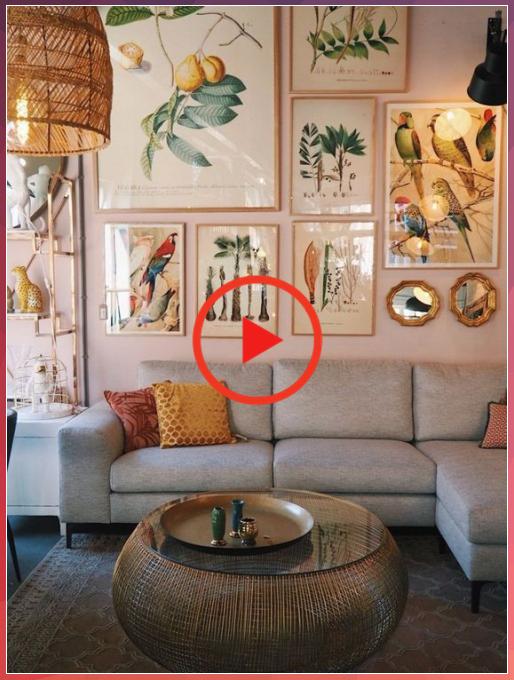 46 inspiration ideas for modern Bohemian living rooms – rengusuk.com -