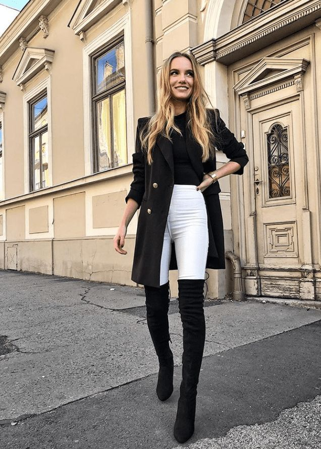 Niedliche Winter-Outfits aus Ihrer Kapsel-Garderobe - Cool Style #cuteoutfits