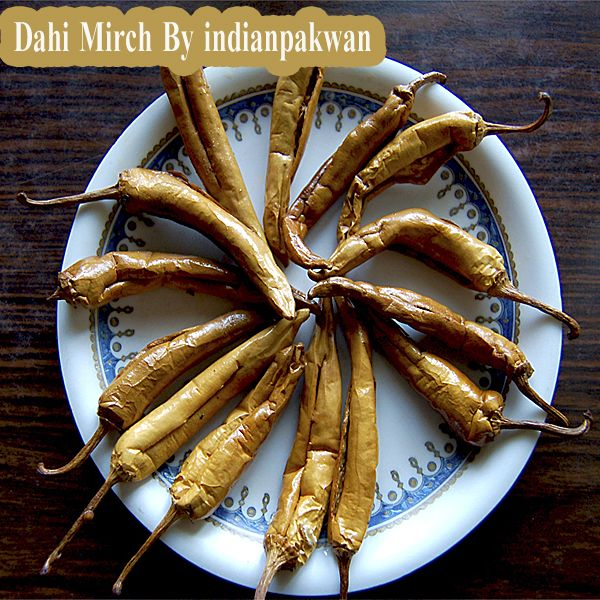 Eating curd chillies with lentils rice doubles the taste. You can easily make Dahi Mirch at your home.  #dahimirch #indianpakwan #indianfood #recipes #foodies #mumbaifoodies #delhirecipes #delhifoodies #indianrecipes