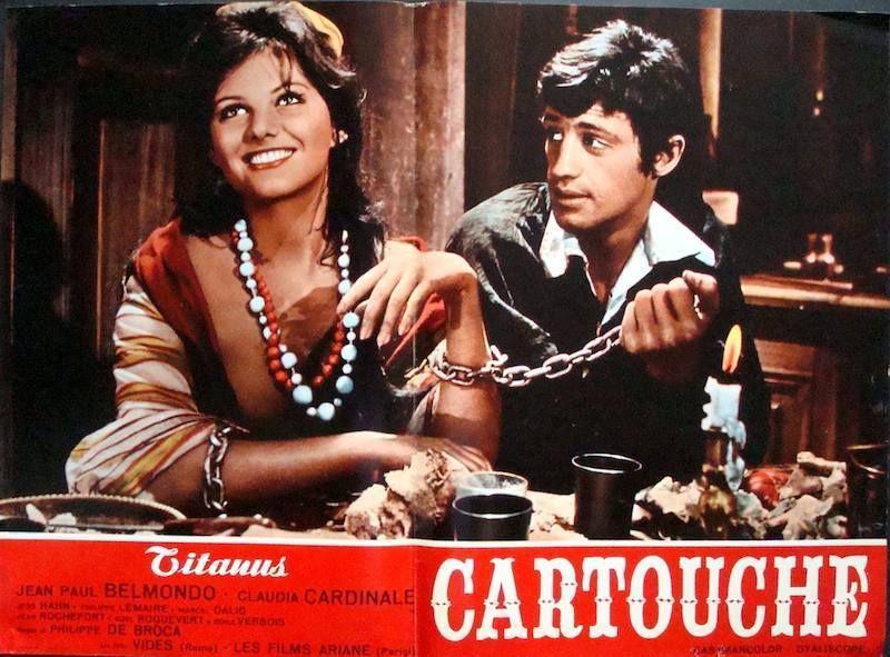 Cartouche Italian Fotobusta Movie Poster Set x12 Belmondo Claudia Cardinale | eBay