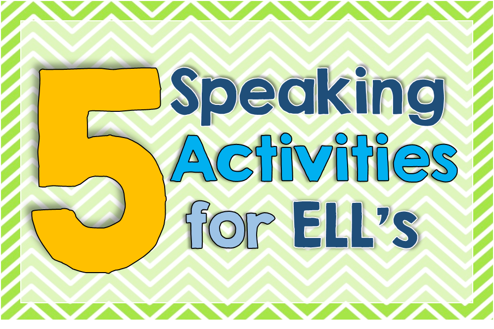 English In Italian: 5 Speaking Activities For English Language Learners