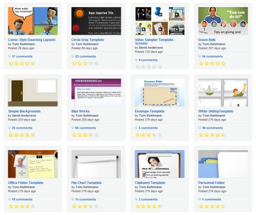 5 free powerpoint e-learning templates - the rapid elearning blog, Powerpoint templates