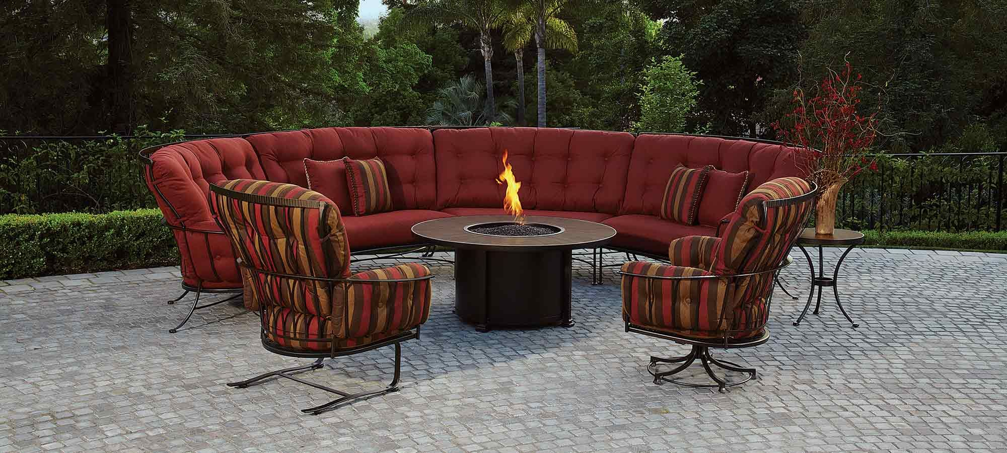 Refresh The Look Of Your Patio With Swanson S Fireplace Patio For The Highest Quality Patio Furniture Redo Wrought Iron Patio Furniture Iron Patio Furniture