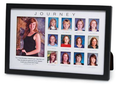 Journey Through The Years Photo Frame Scrapbook Collage Frames