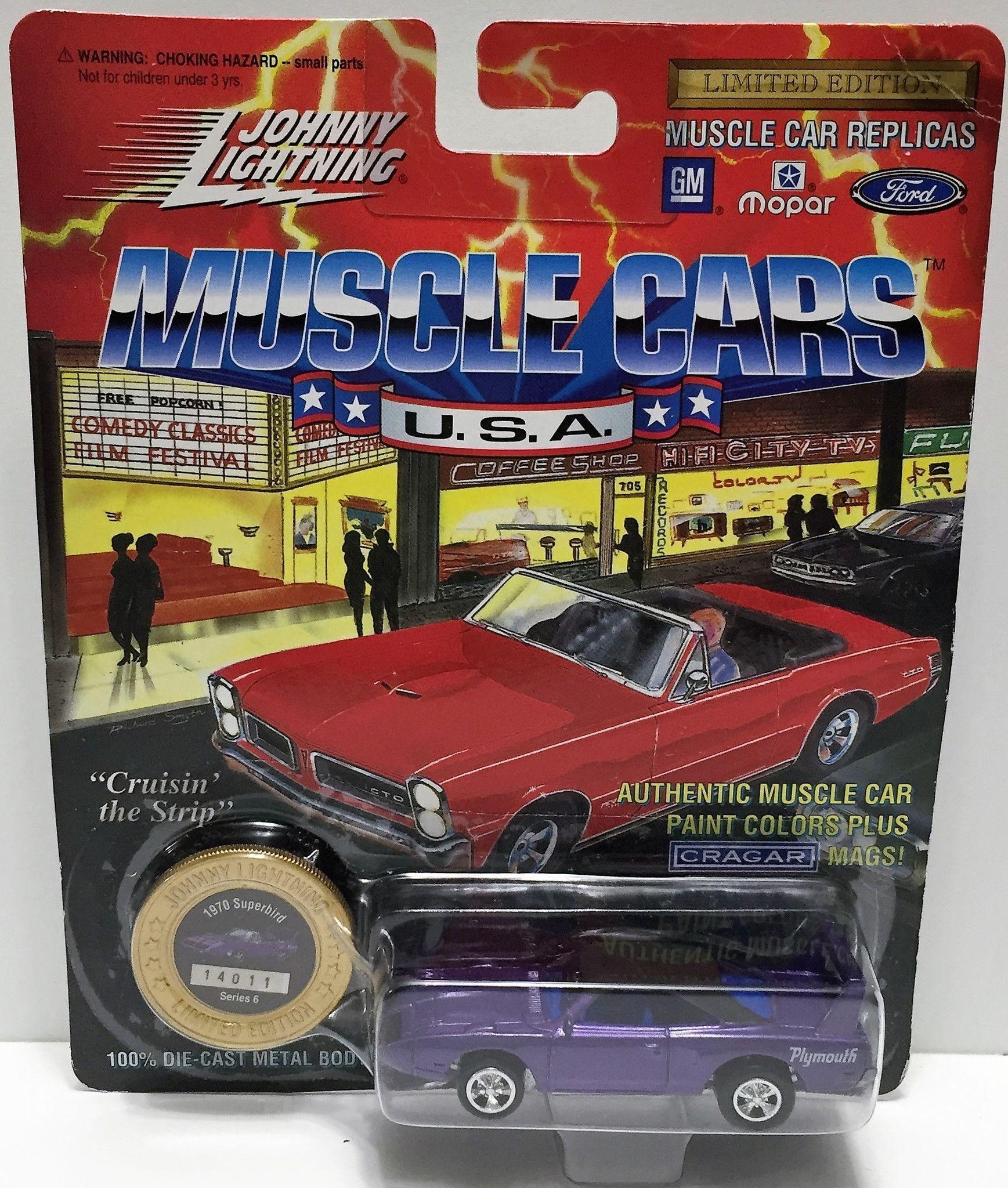 15+ Johnny lightning muscle cars 4k UHD