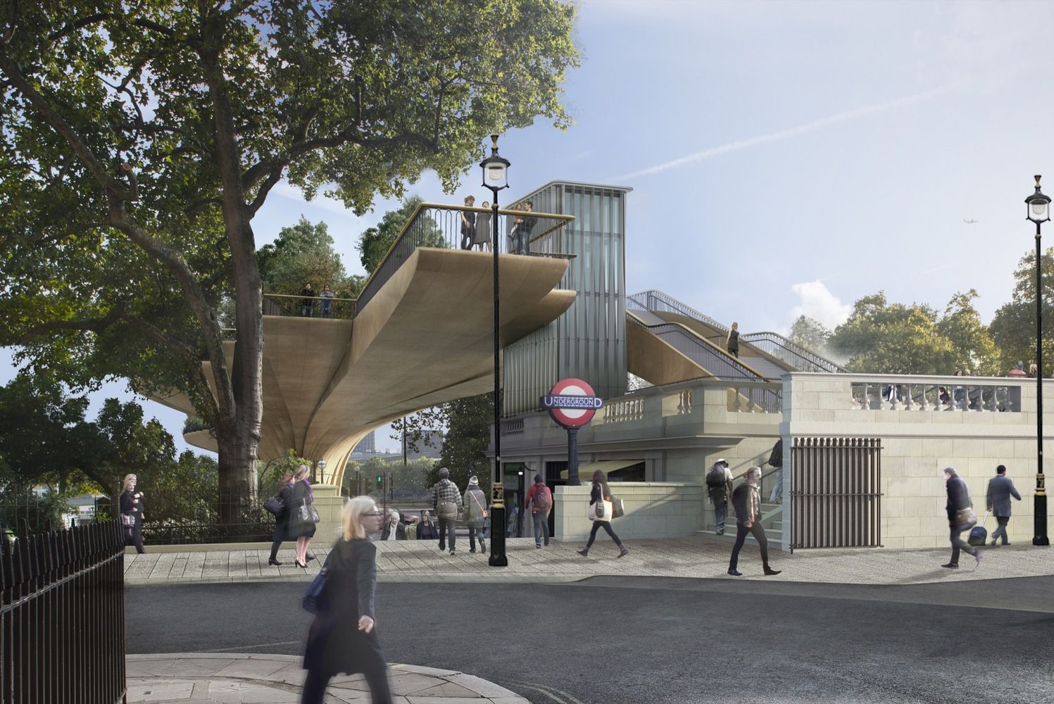 Gallery Of Uk National Audit Office Presents Findings Pertaining To Heatherwick S Garden Bridge I Garden Bridge Project Thomas Heatherwick Garden Bridge London