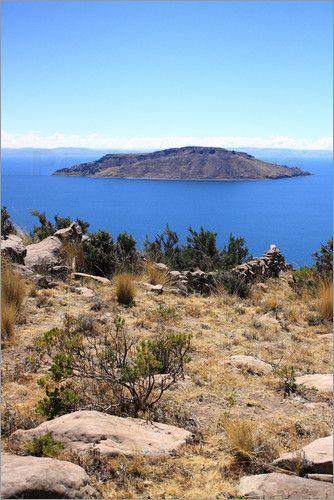 Insel im weltberühmten Titikakasee, Peru als Fotodruck (Poster oder Leinwandbild) erhältlich bei Posterlounge http://www.posterlounge.de/titikakasee-peru-pr579882.html