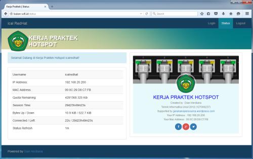 Template Halaman Login Hotspot Mikrotik Router