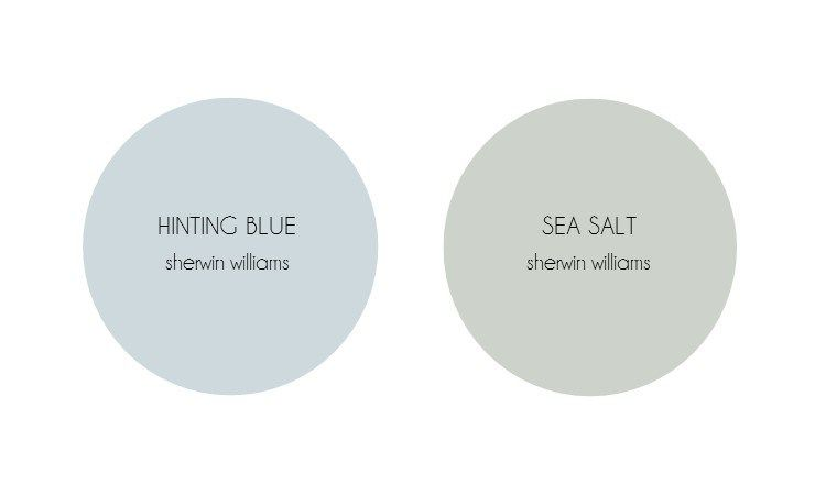 Blues by sherwin williams farmhouse paint colors