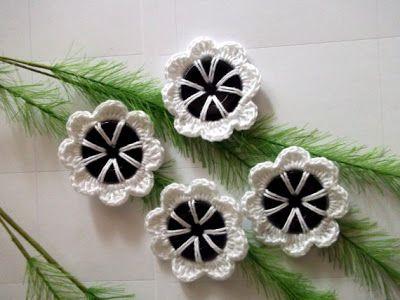 Crochet Buttons | Crochet N Paper Boutik