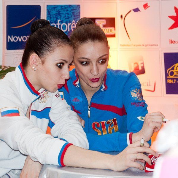Daria Dmitrieva & Evgenia Kanaeva