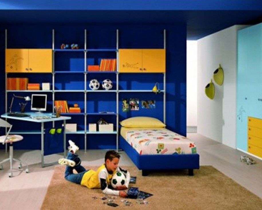10 year old boy bedroom ideas to inspire you in designing for Room decor for 1 year old boy
