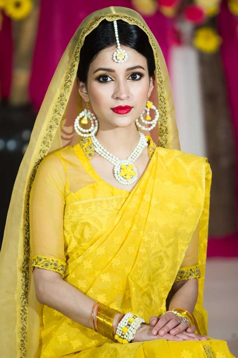 simply amazing#holud look in bangladesh bengali bride