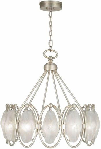 fine art lamps pendant 864840 from the quartz and iron collection