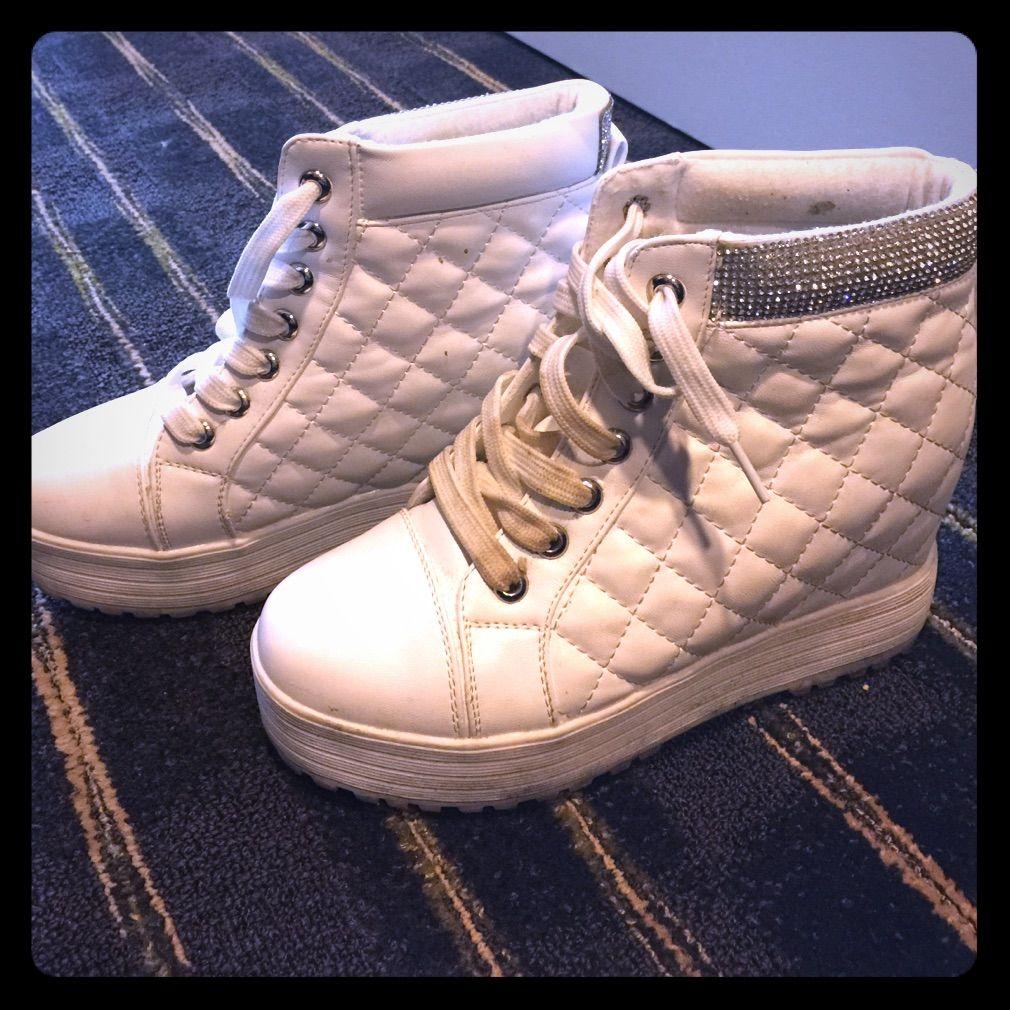 b6674b3ef5435 Wedge Sneakers   Pinterest