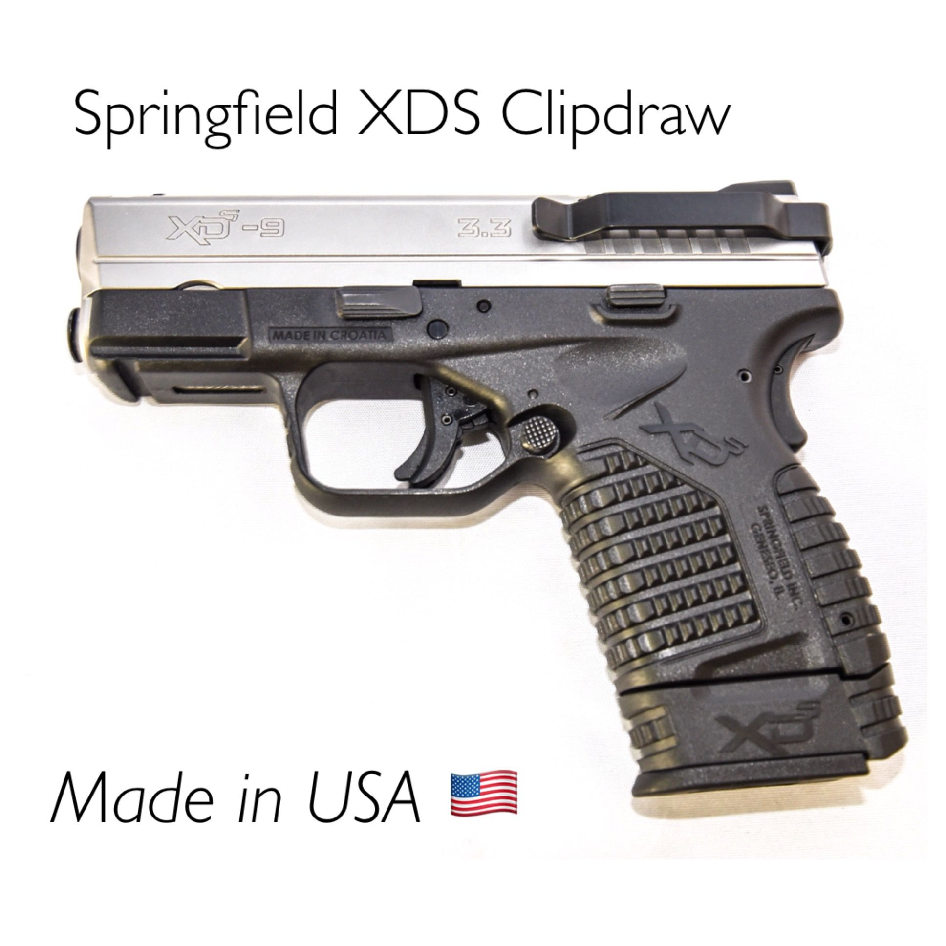 Holster-less Concealed Carry for your Springfield XDS 9MM or .45 ...