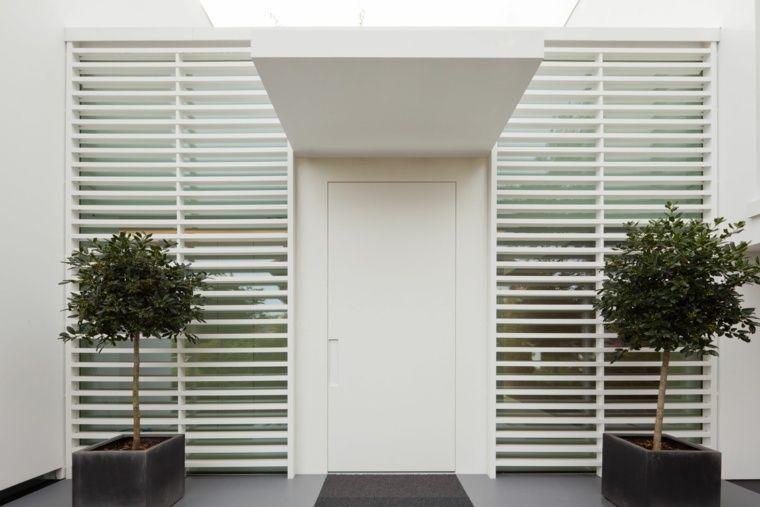 Décoration porte entrée  25 idées modernes Front yards and