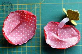 Photo of Hobby di carta – Il blog: Ispirazione di cucito: fragole invernali!