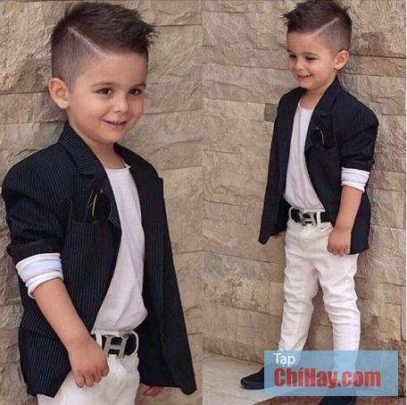 10 kiểu tóc bé trai đẹp nhất ba mẹ không nên bỏ qu
