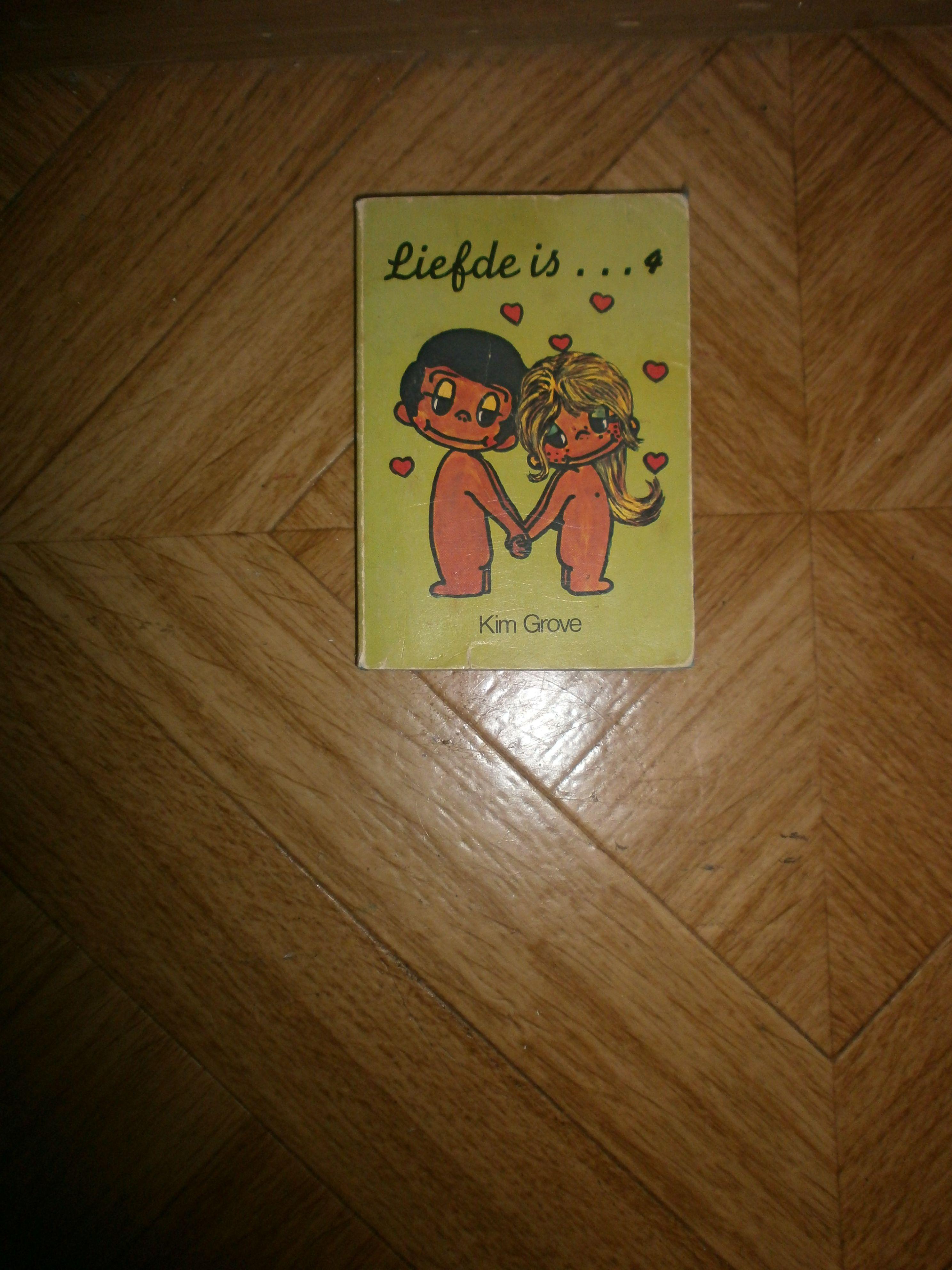 Dit is het eerste boek dat ik naar mijn weten zelf las. Je hoeft er niet veel voor te lezen eigenlijk, maar het lag altijd bij het speelgoed ofzo. De bladzijdes waren van gekleurd papier. Dat vond ik super cool.