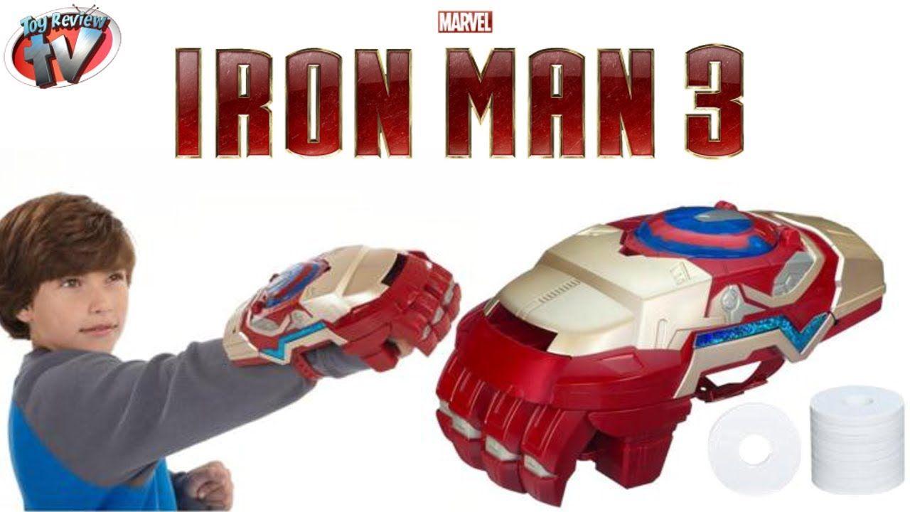 Marvel Iron Man 3 Nerf Motorized Arc FX Gauntlet Toy