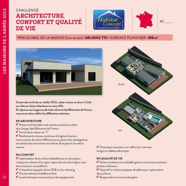 Challenge Architecture, confort et qualité de vie - ARGENT  Maisons - pompe a chaleur pour maison