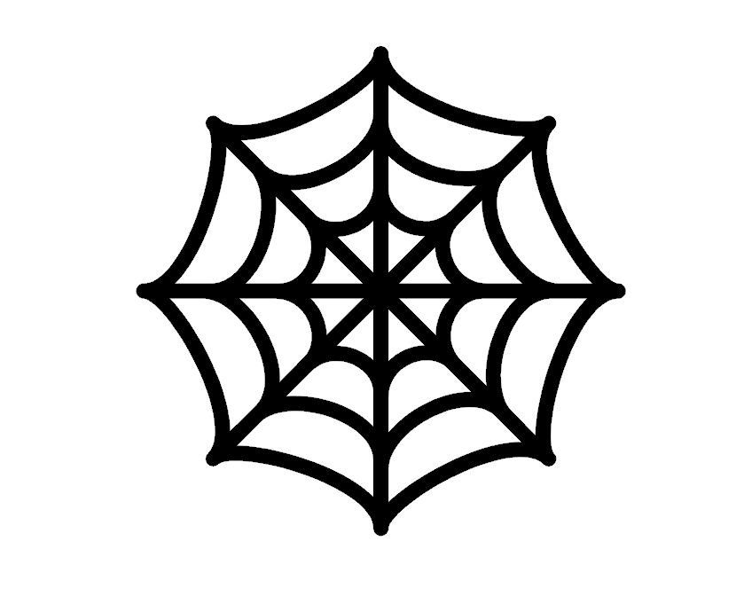 spider web template | Spider Web Stencil | Halloween | Pinterest ...