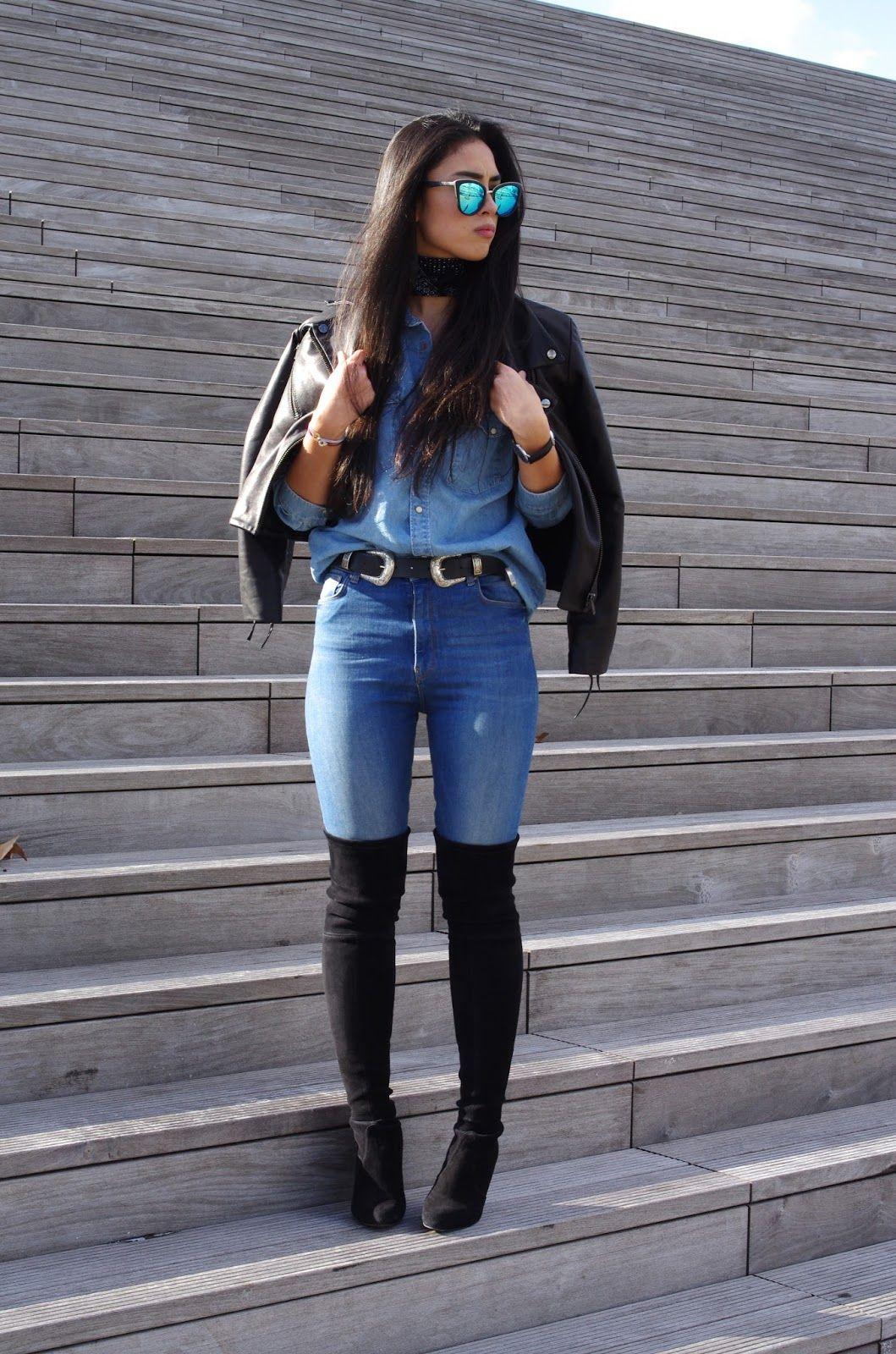 Style du jour en mode cuissardes et jeans. Mode homme over