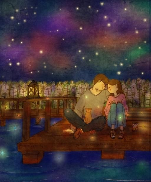 Puuung – Love is: So sieht Liebe aus - Art - bento