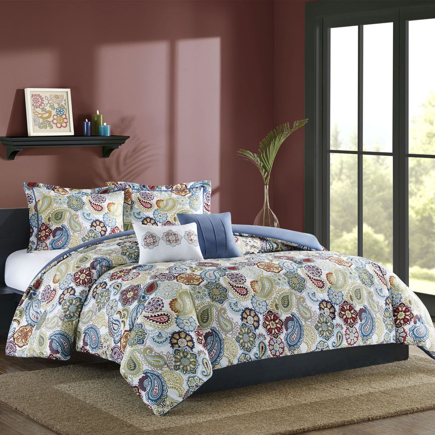 Studio A Taylor Full Queen 5 Piece Mini Comforter Set | Shopko.com