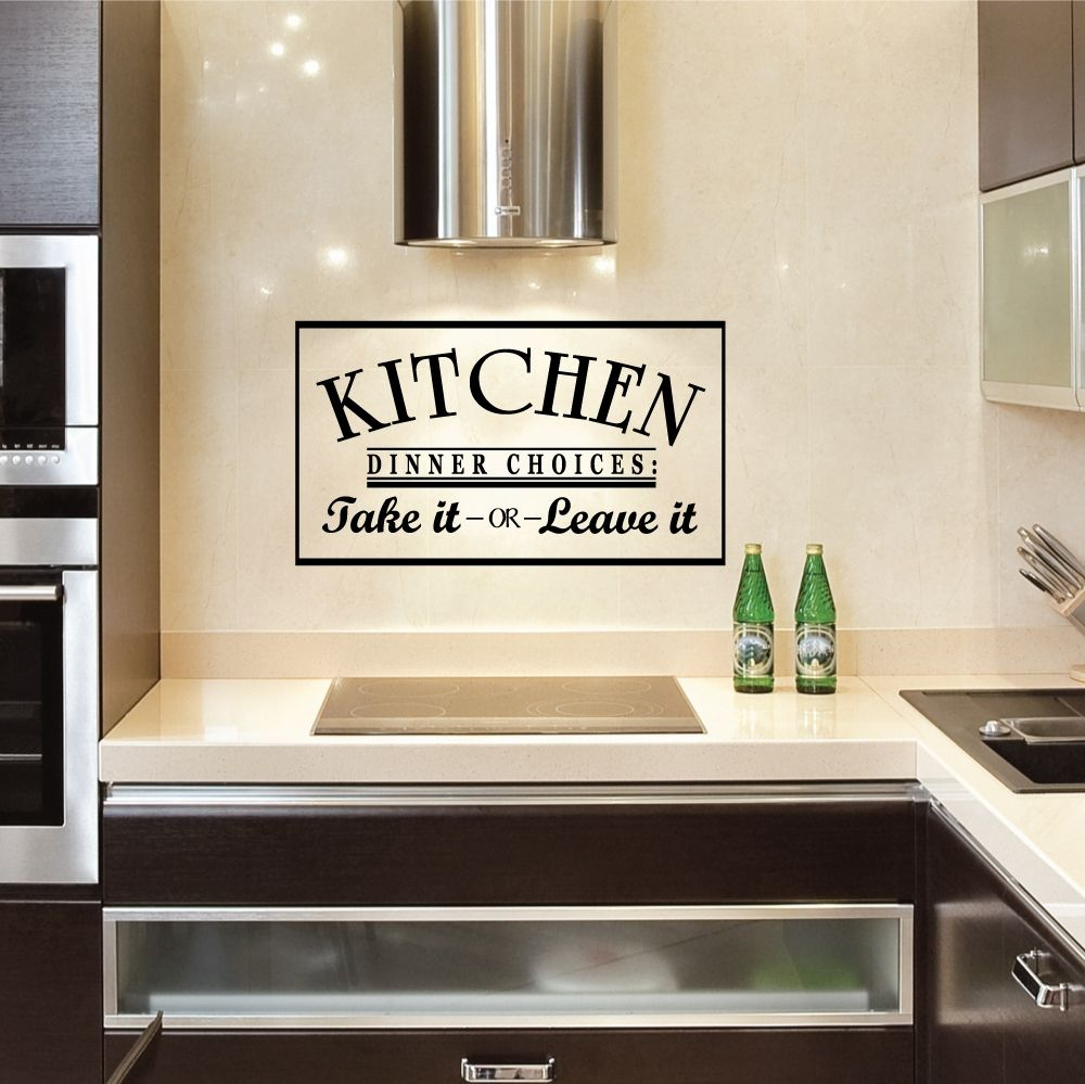 Vinyl Wall Decals For Kitchen Cabinets Country Kitchen Wall Decor Kitchen Decor Wall Art Kitchen Wall Decals
