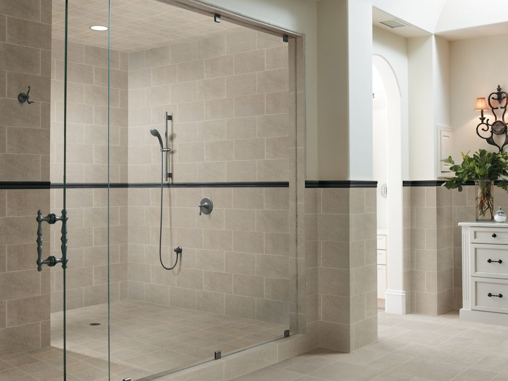 Glass wall panels bathroom - Bathroom Wall Tile Panels Shower Wall And Sliding Glass Shower Door And