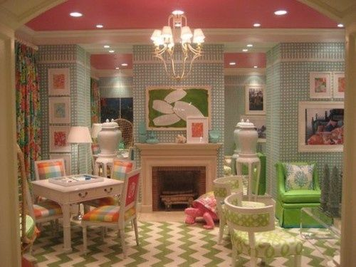 perfect little girls playroom--- oh my stars this is darling!