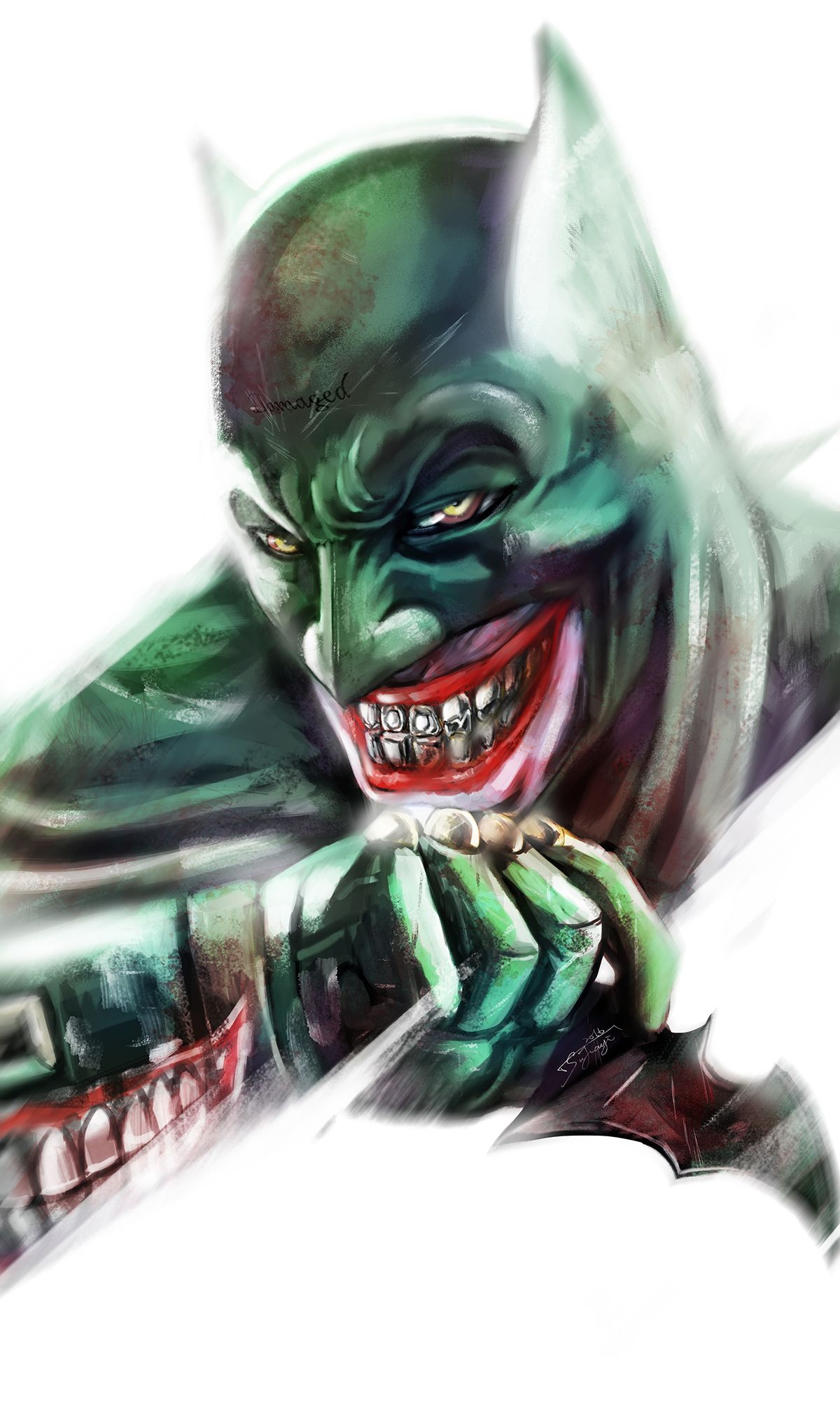 51e370594f00e The Joker  Batman Imposter Version on Behance