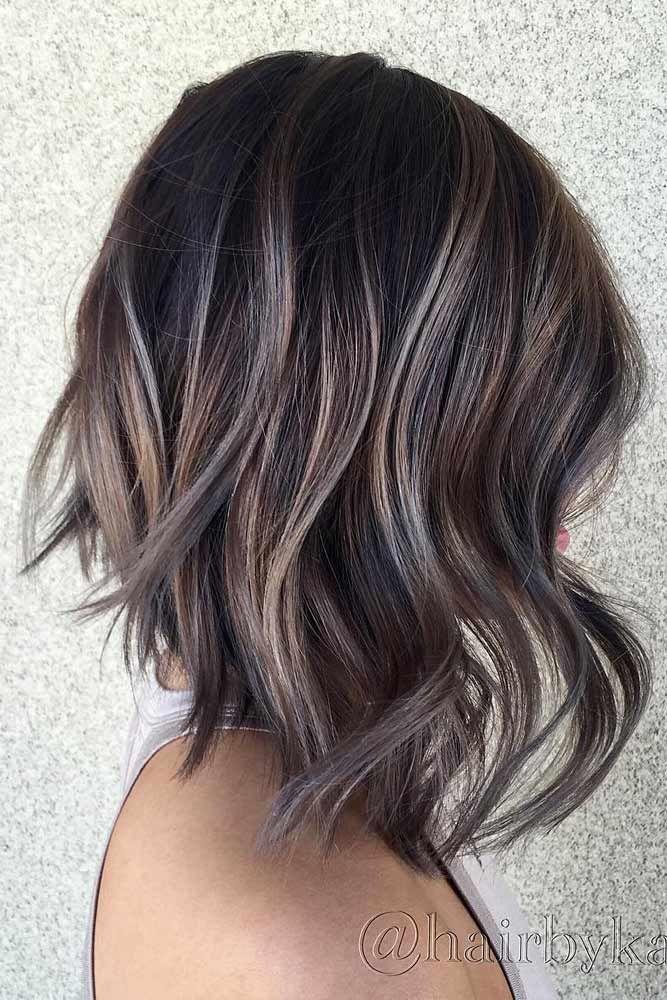 Highlights For Short Hair Trend Balayage Hair Hair Color