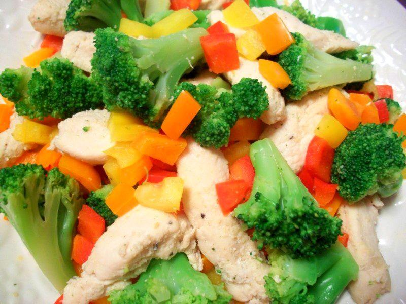 Sandy's Kitchen: Tropical Chicken Medley