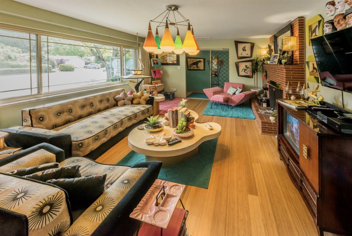 Location Booking 60s Home Decor 1950s Living Room Retro Home Decor
