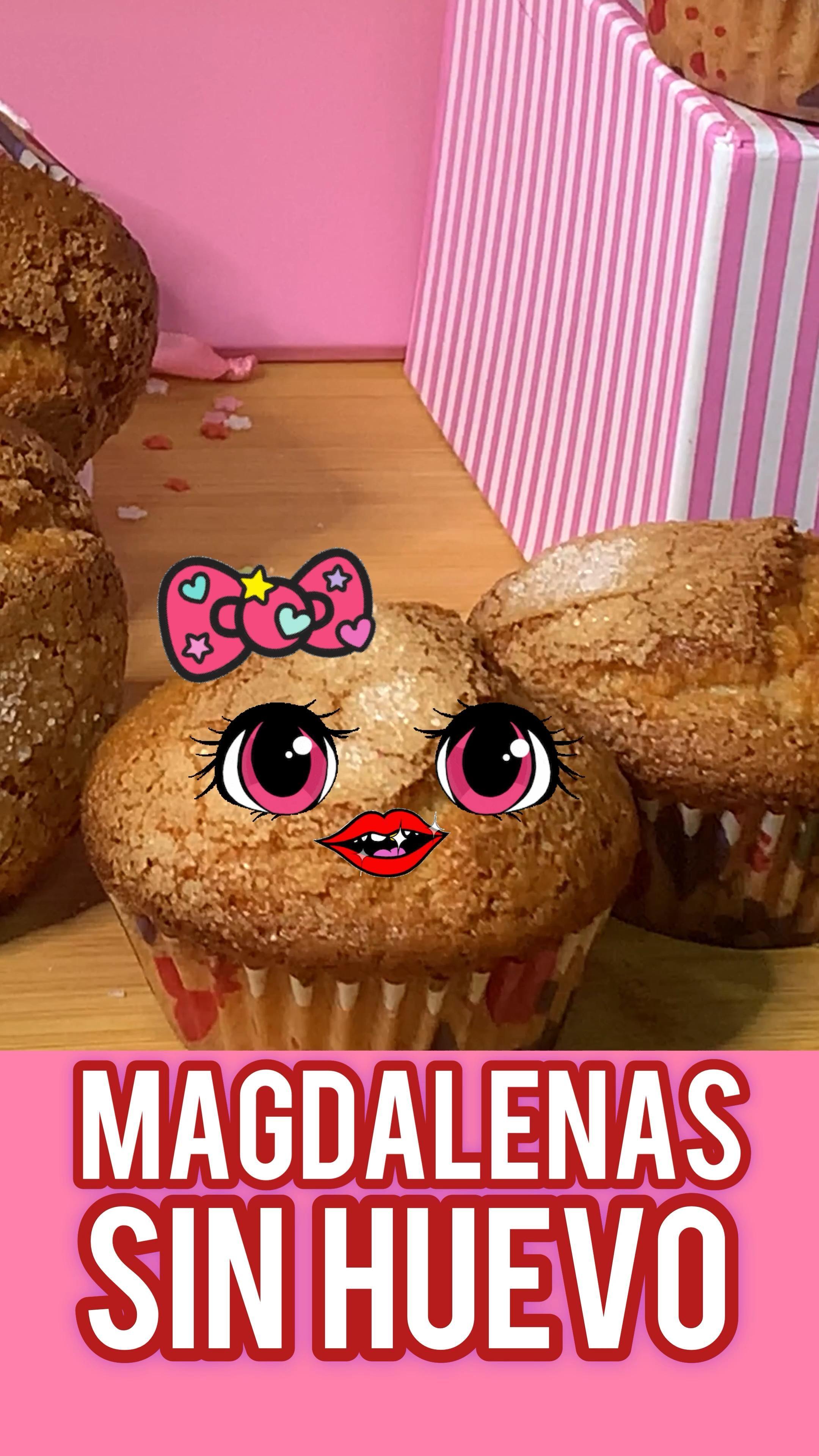 Mss Magdalena Sin Huevo Video En 2021 Magdalenas Magdalenas Caseras Recetas De Magdalenas
