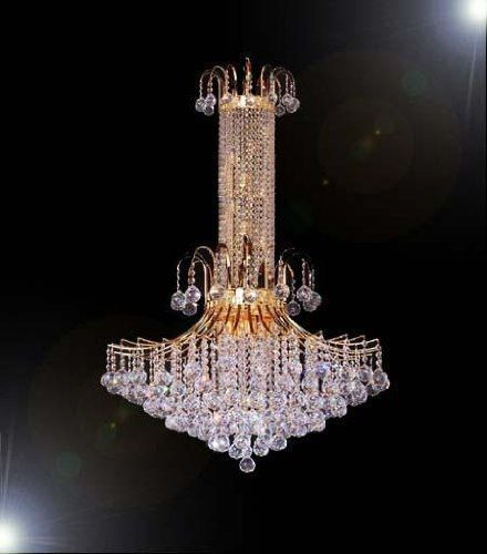 French Empire Crystal Chandelier Chandeliers Lighting H50  X W31  - F93-876/14LARGE | French empire Crystals and Products & French Empire Crystal Chandelier Chandeliers Lighting H50