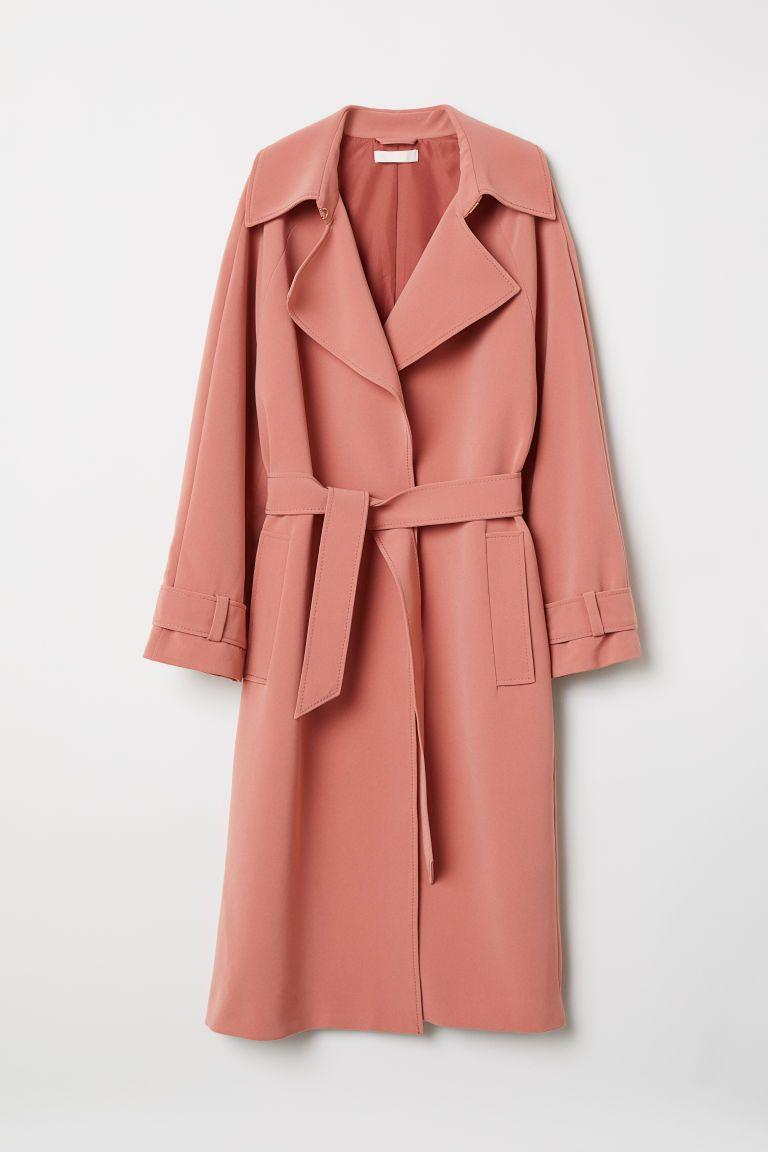 06185efe3022 Trenchcoat - Vintage pink - Ladies