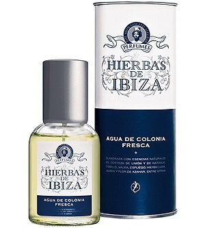 Hierbas de Ibiza - Agua de Colonia Fresca  Notes: Head: Orange, Lemon, Lavender. Heart: Verbena, Geranium, Jasmine. Base: Orange Blossom, Cinnamon, Vanilla. @Teresa Selberg Mitchell